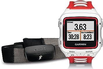 Garmin Forerunner 920XT HRM-Run(TM) - - Montre GPS Multisports  - blanche et rouge