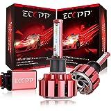 LED Headlight Bulbs,ECCPP Upgraded H1 LED Headlight Bulbs Jeep Wrangler Conversion Kit Non HID Headlamp 90W 11000Lm CREE Xenon White Fog Light CANBUS - 3 year Warranty