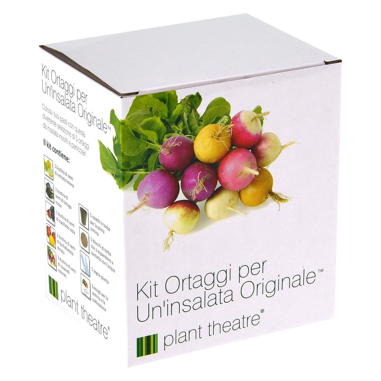 Il Kit Ortaggi per un'Insalata Originale di Plant Theatre - 5 fantastiche verdure da insalata da coltivare