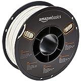 AmazonBasics PLA 3D Printer Filament, 2.85mm, White 1 kg Spool (Color: White, Tamaño: 2.85mm)