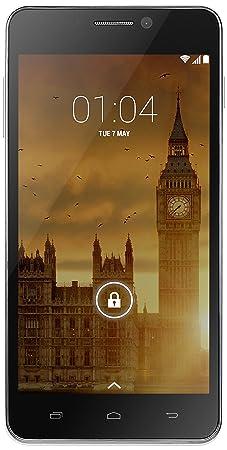 Kazam Trooper 450L Smartphone débloqué 4G (Ecran : 5 pouces - 8 Go - Simple SIM - Android 4.4 KitKat) Argent