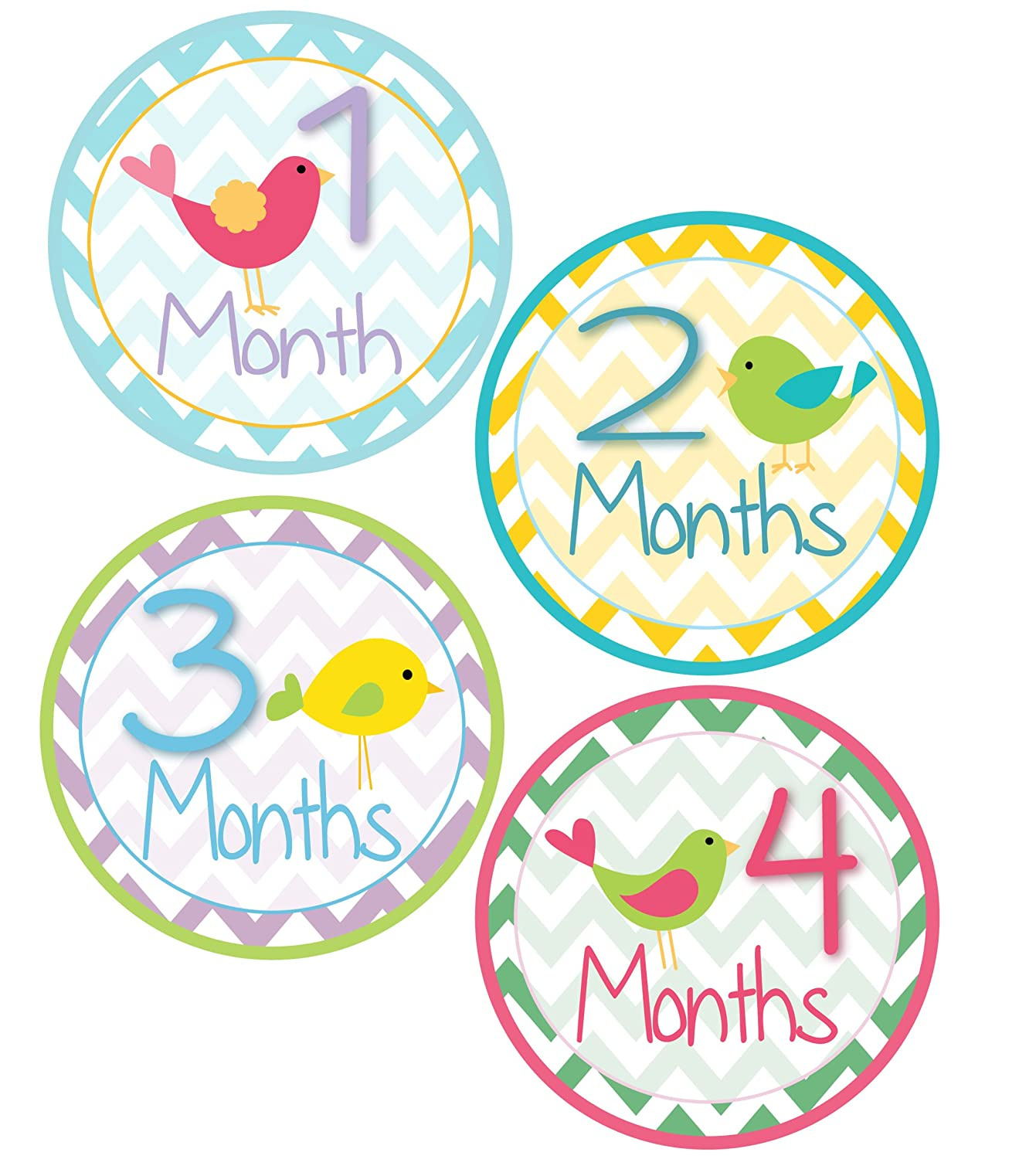... - Baby Month Stickers Monthly Onesie Stickers Boy Monkey Baby Shower