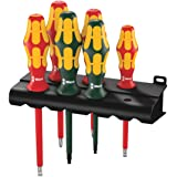 Wera Kraftform Plus 160i/168i/6 Insulated Professional Screwdriver Set, 6-Piece (Color: MULTI)