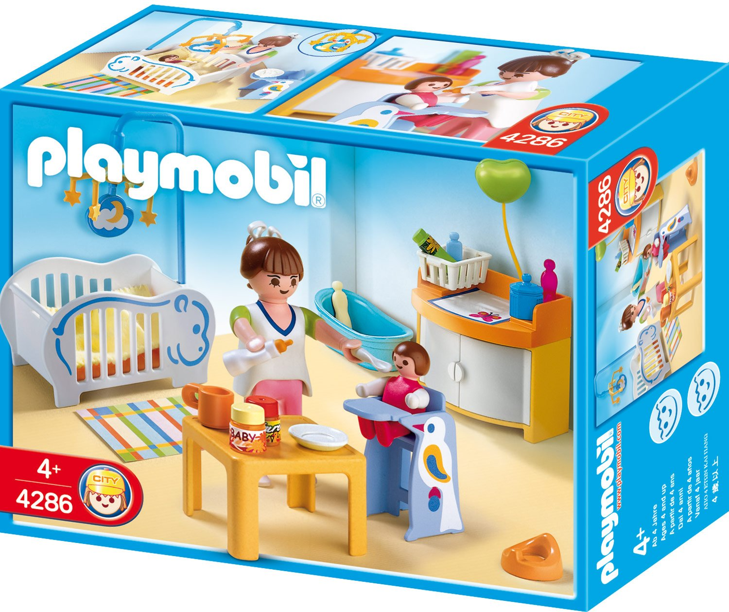 Playmobil bebe for Playmobil chambre princesse