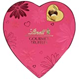 Lindt Valentine Heart Gourmet Truffles Gift Box, 5.6 Ounce
