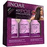 Inoar Pos Progress Home Care Brazilian Keratin After Care Kit - 8.4 oz - 250 ml