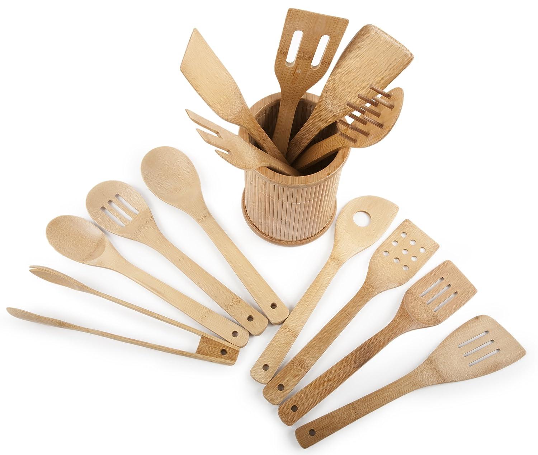 Core Bamboo Classic  Piece Kitchen Utensil Set
