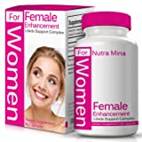 Female Enhancement Natural Booster With Epimedium, Tribulus Terrestris and Gingko Biloba To Support Overall Wellness, Desire, Energy & Drive, With Bioperine For Maximum Absorption and Bioavailability