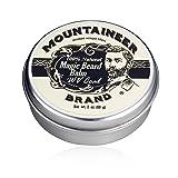 Magic Beard Balm by Mountaineer Brand - WV Coal All Natural Conditioning Balm (Color: Wv Coal, Tamaño: 2 Ounce)