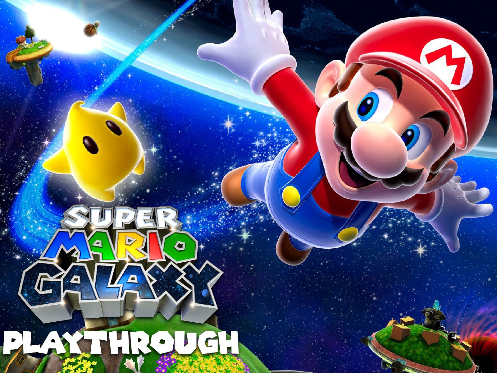 Clip: Super Mario Galaxy Playthrough
