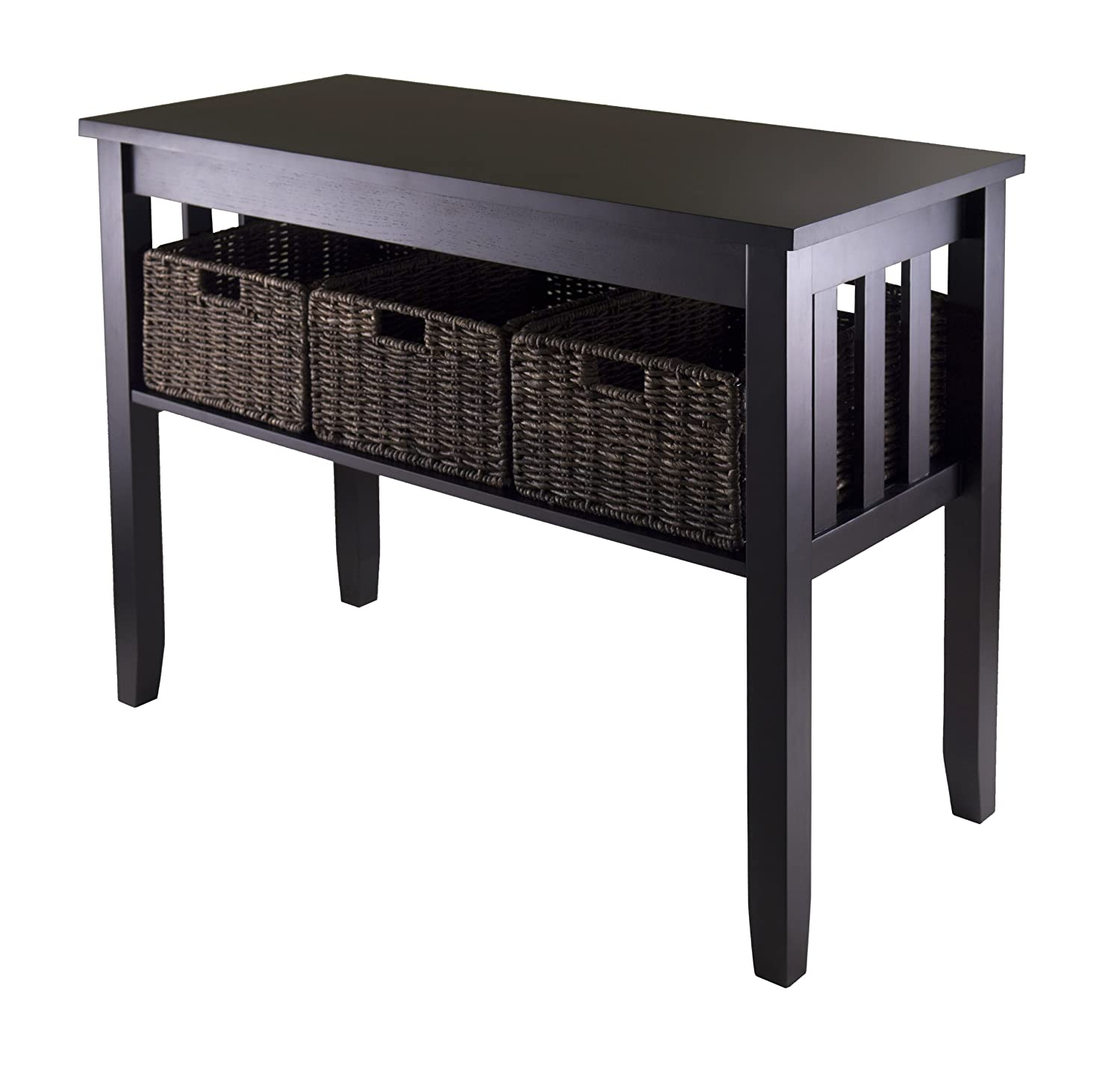 Best contemporary entryway console tables olivia39s place for Hall console table