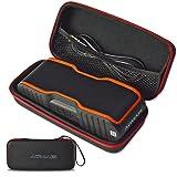 AOMAIS Speaker Case, UtechSmart Premium PU Leather Shockproof Waterproof Carrying EVA Case Cover Storage Pouch Bag for AOMAIS Bluetooth Speaker (Color: AOMAIS)