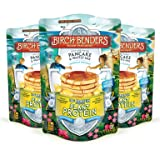 Plant Protein Pancake & Waffle Mix by Birch Benders, All Natural, No Added Sugar, 10g Protein, Whole Grain, Family Size 3 Pack (14 oz each) (Tamaño: 3 Pack)