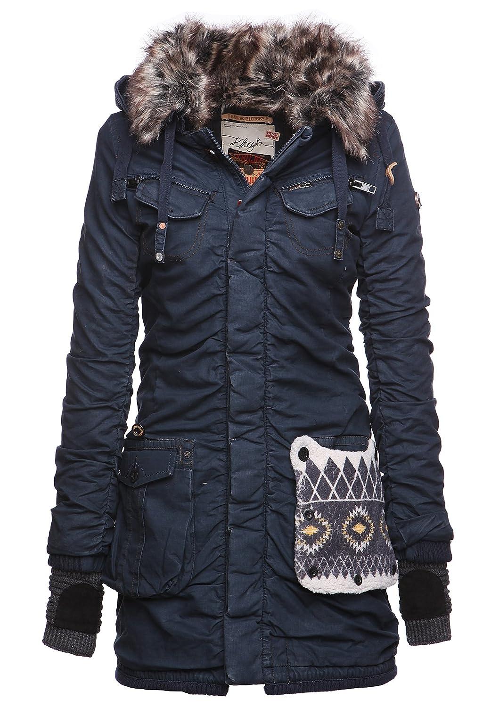 khujo Damen Mantel CHANTAL WITH GLOVES 1099CO153G_450