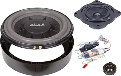 Audio system golf v plus 200 x 20 cm 3 voies compo système de subwoofer pour golf 5