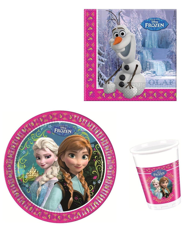 Disney Frozen Die Eiskönigin Partygeschirr