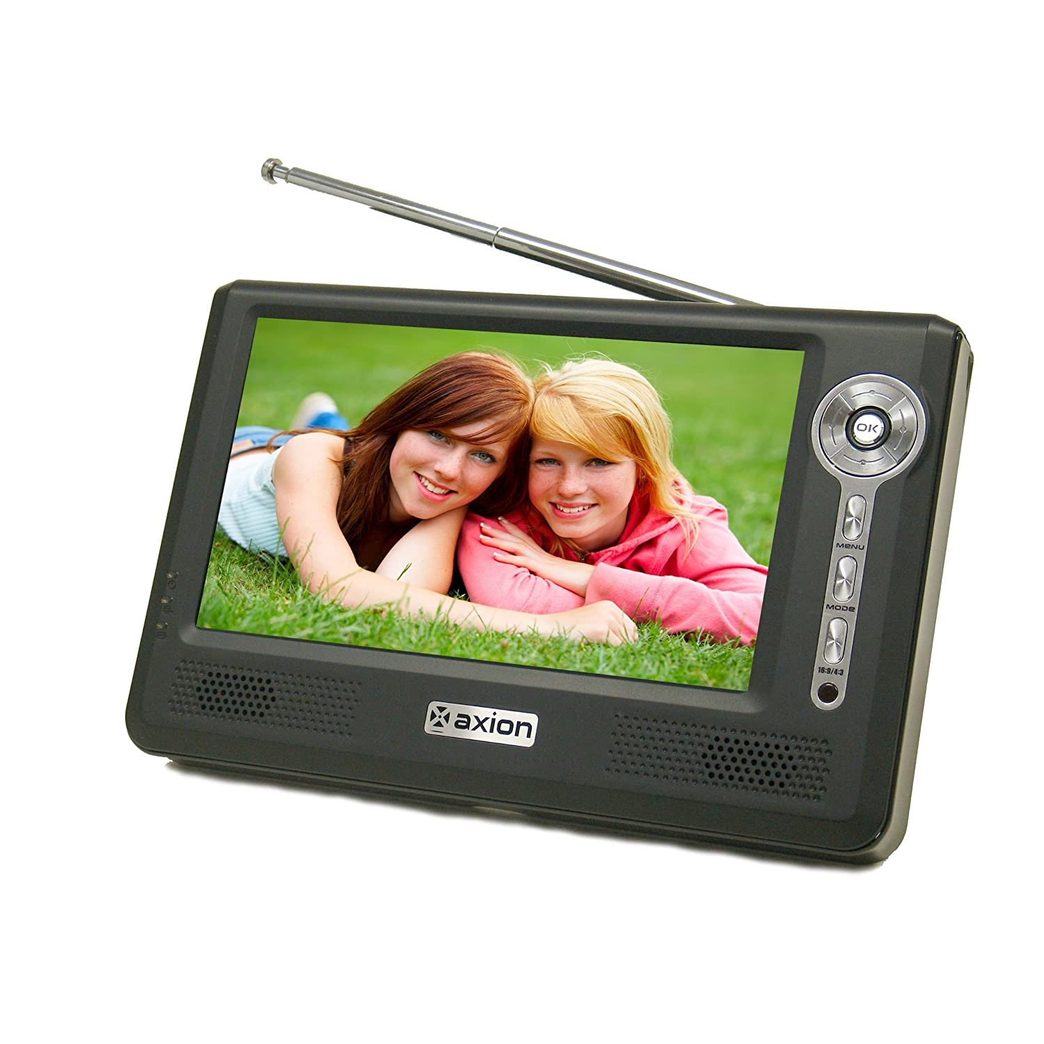 Axion AXN-8705 7-Inch Widescreen Portable LCD TV (Black)