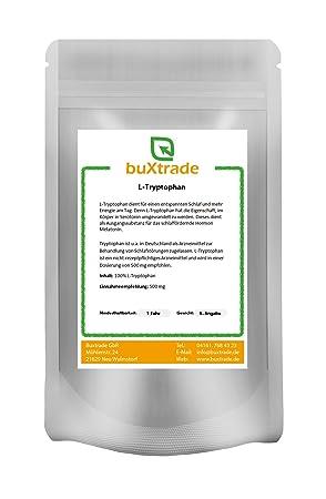 1 kg reines Tryptophan Pulver - Tryptophane L-Tryptophan Regeneration Wohlbefinden gegen Schlafstörung