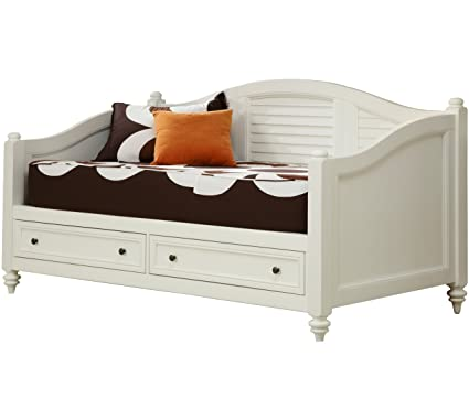 Home Styles Bermuda Daybed, White Finish