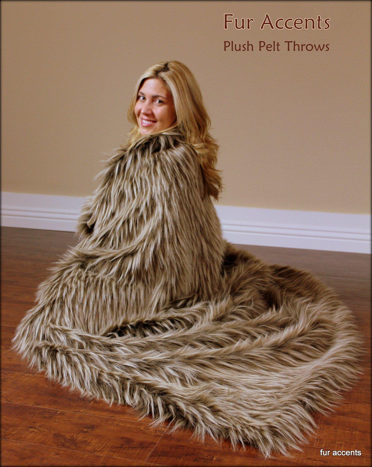 Fur Face Throw Blanket