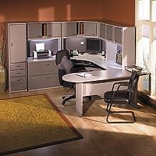 BUSH BUSINESS FURNITURE Series A:48-inch Corner Desk