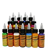 Tattoo Ink Professional Positive Tattoo Ink Set Pigment Kit (16 colors) (Color: 16 colors)