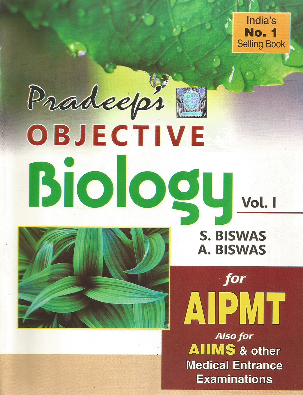 Pradeep s objective biology vol i ii for aipmt other medical entrance examination