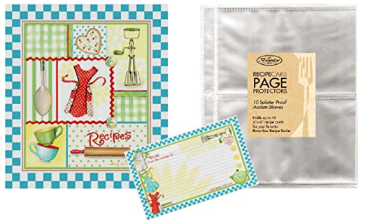 Recipe Binders And Matching Cards With Binder Recipe Cards
