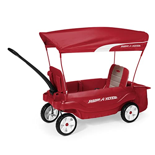 Radio Flyer The Ultimate Comfort Wagon Red