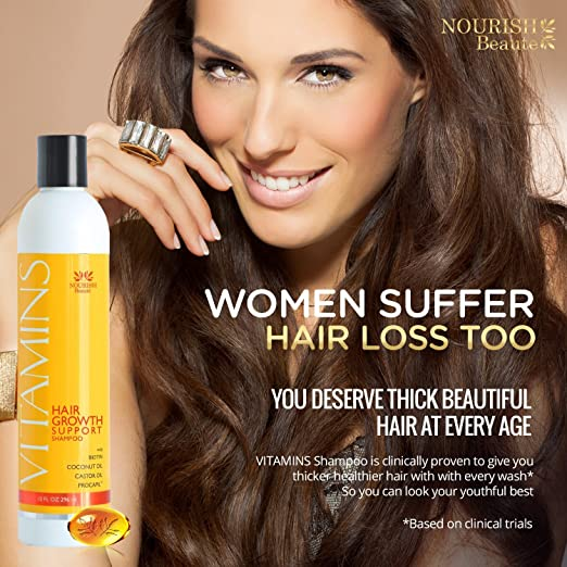 Vitamins shampoo for women suffer