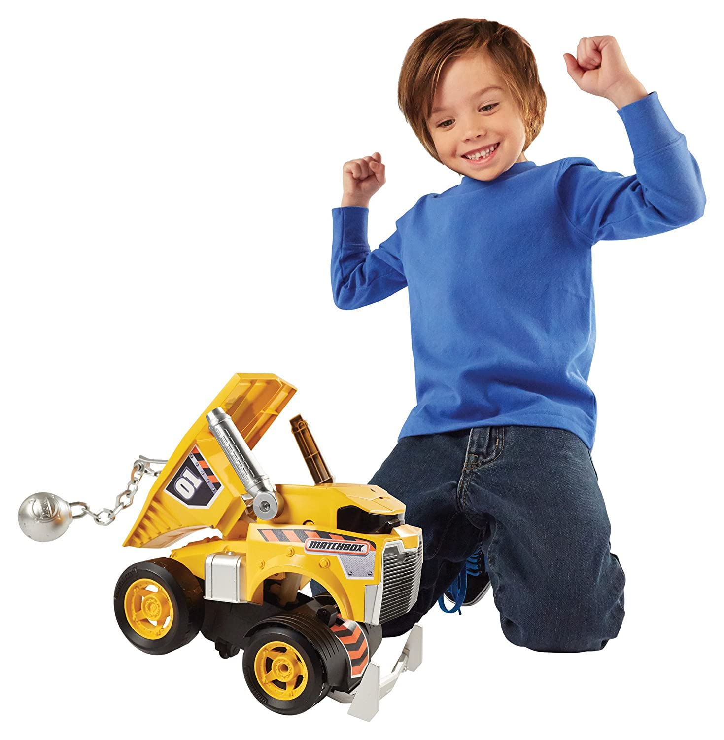 Cool Building Toys For Boys : Matchbox wrecky the wrecking buddy off from amazon and