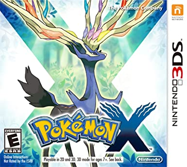 Pokémon X Game for 3DS