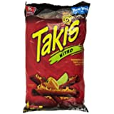 Barcel Takis Nitro Habanero & Lime Tortilla Chips 9.9 Oz. (1 Bag)