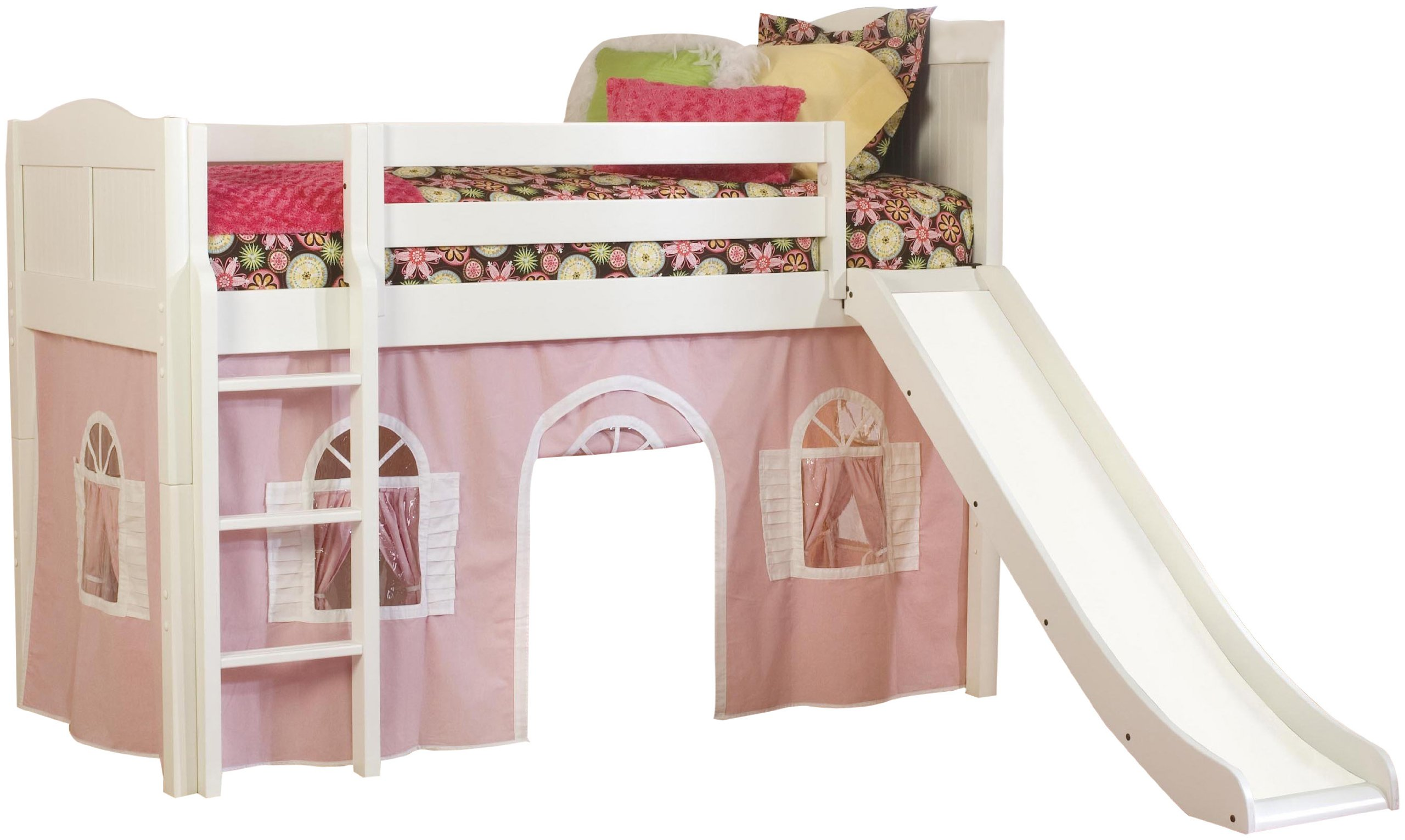 Kids Bunk Beds Slide Simple Home Decoration