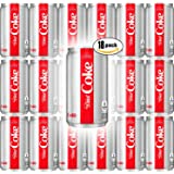 Diet Coke, 7.5 oz Mini Cans (Pack of 18, Total of 135 Fl Oz)
