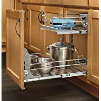 Rev-A-Shelf 2-Tier Pull-Out Wire Basket Base Cabinet (5WB2-1522-CR)