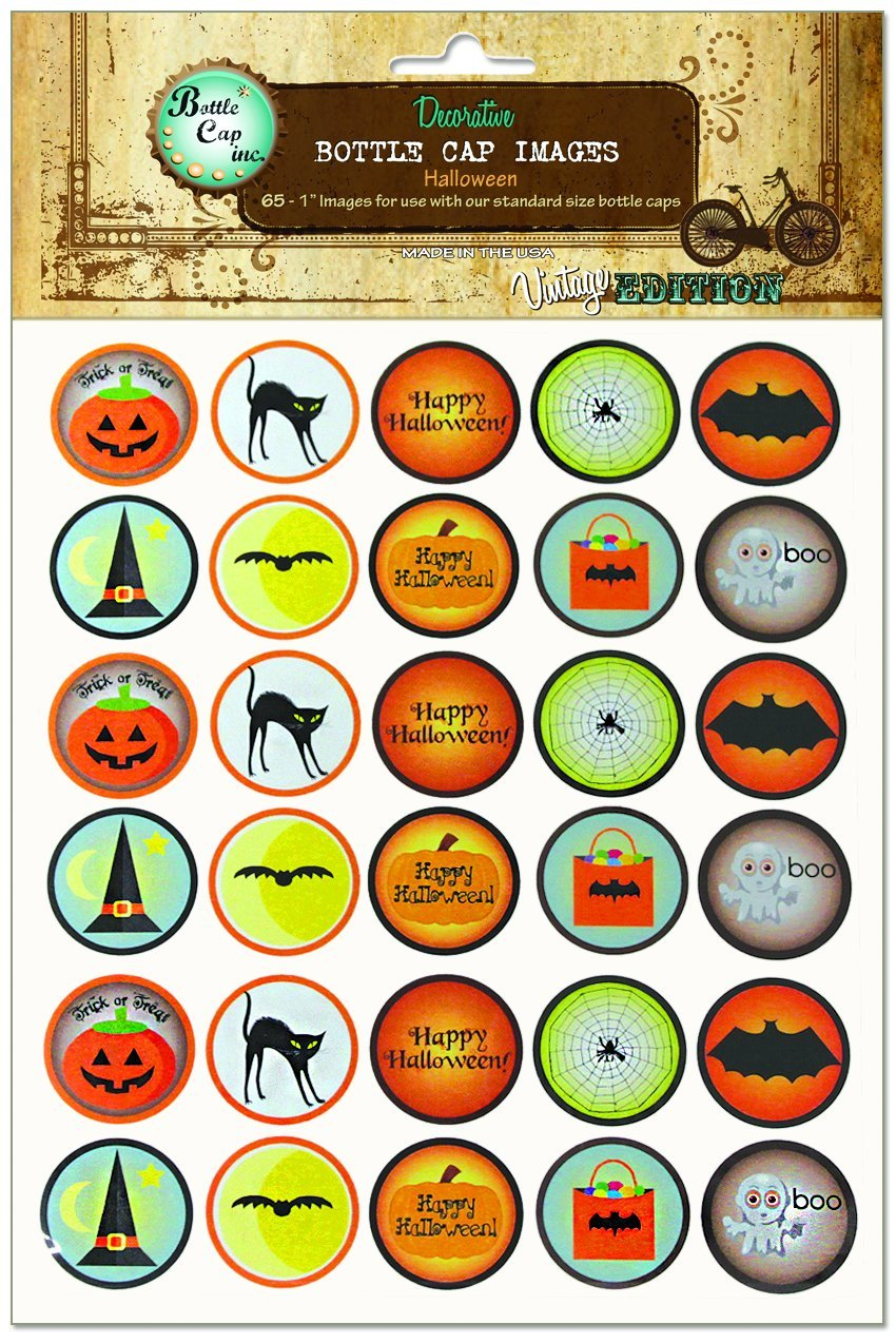 Bottle Cap Images, Halloween cap herman hedwear cap