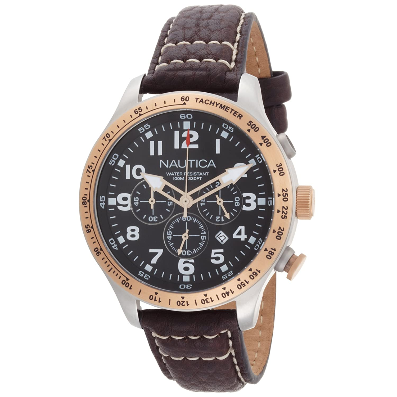 are nautica watches good nautica men s n16593g bfd 101 chronograph