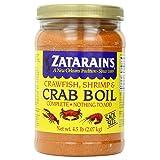Zatarain's Pre-Seasoned Crab & Shrimp Boil, 4.5 lb each-