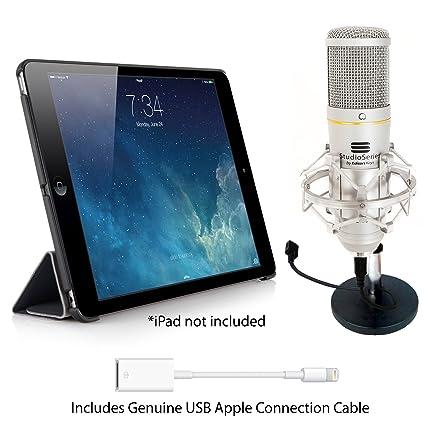 Kit d'enregistrement avec micro pour iPad Air & iPad Mini