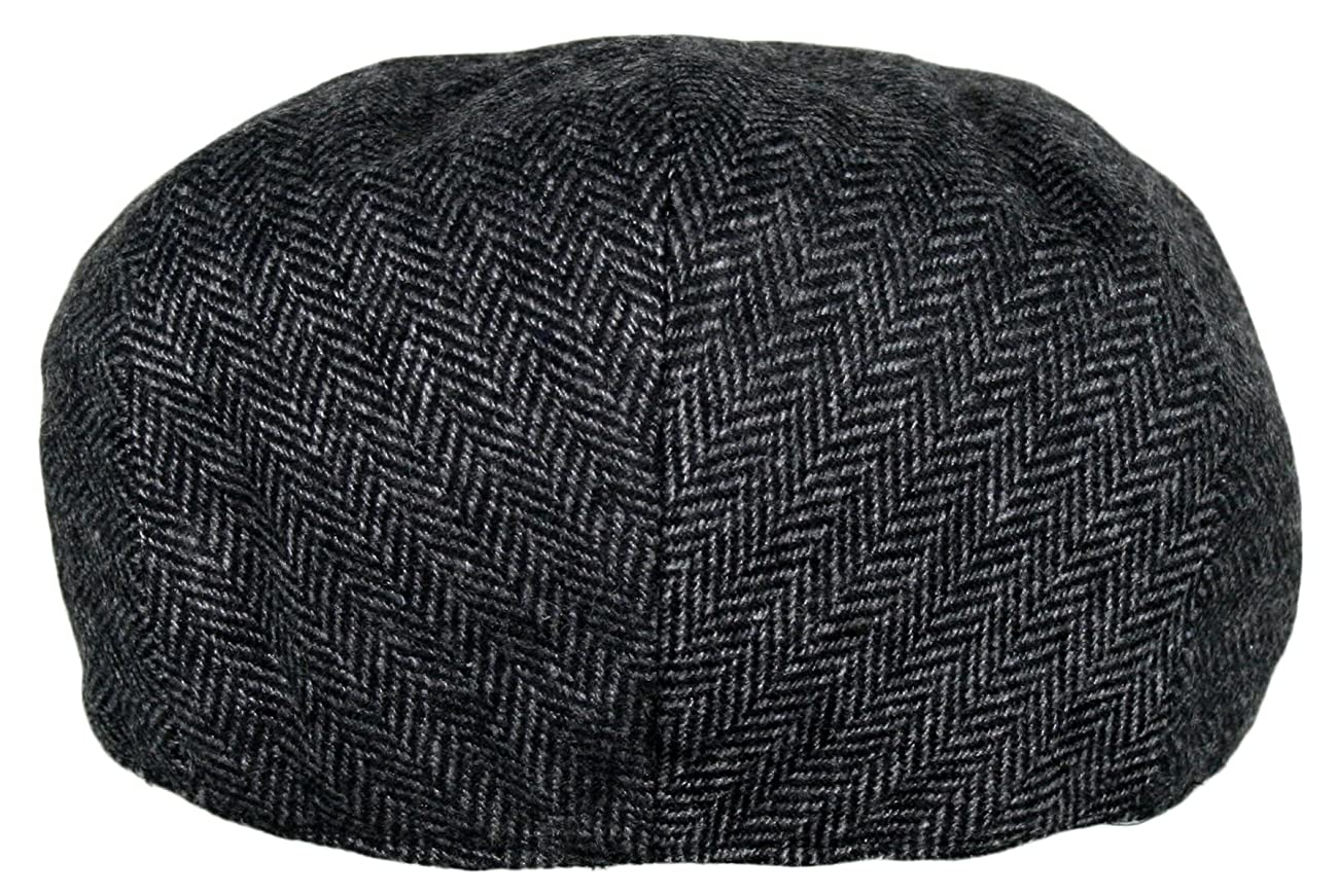 Men's Premium Wool Blend Classic Flat Ivy Newsboy Collection Hat 4