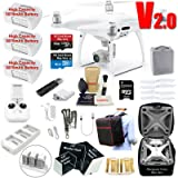 DJI Phantom 4 PRO V2.0 (V2) Drone Quadcopter Bundle Kit with 3 Batteries, 4K Professional Camera Gimbal & MUST HAVE Accessories (Tamaño: Phantom 4 PRO V2.0)