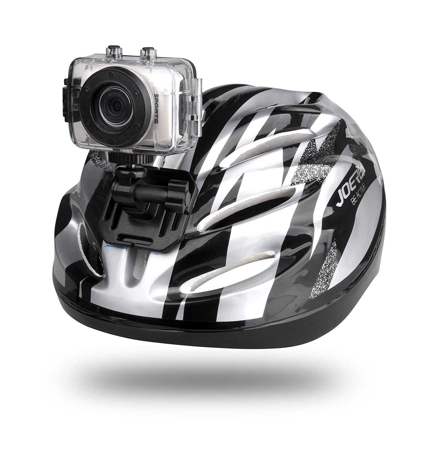 Gear-Pro High-Definition Sport Action Camera, 720p Wide-Angle Camcorder With 2.0 Touch Screen - SD Card Slot, USB Plug And Mic - All Mounting Gear Included - For Biking, Riding, Racing, Skiing And Water Sports, Etc