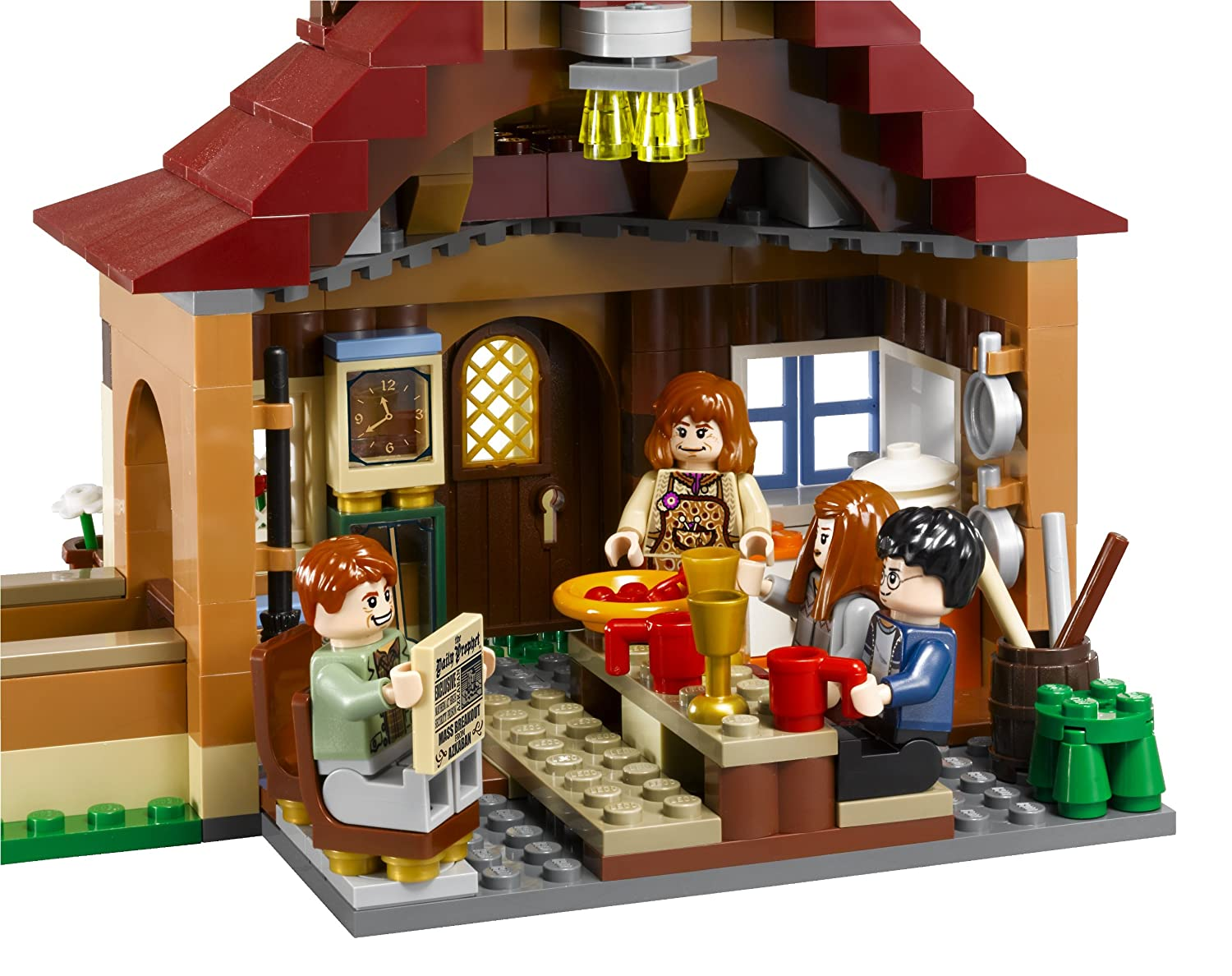Burrow Harry Potter Lego Lego Harry Potter The Burrows
