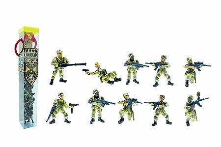 Plastoy - 70376 - Figurine - Tubo Le Commando Opération - Désert