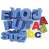 Roylco Super Value Dip & Print Painting Capital & Lower Case Letters Paint Sponges