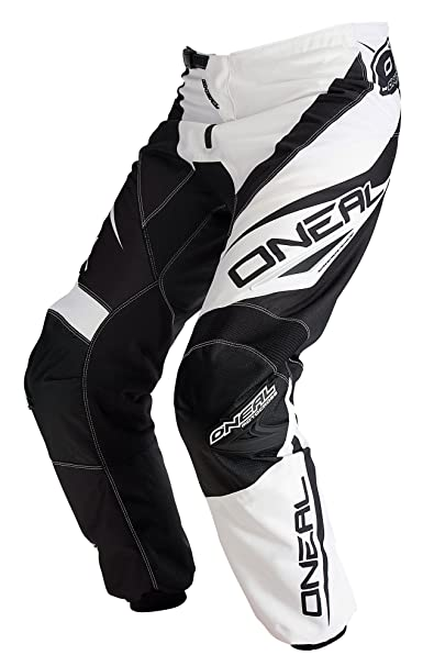 Pantalon Moto Cross VTT ONEAL ELEMENT RACEWEAR Noir Blanc