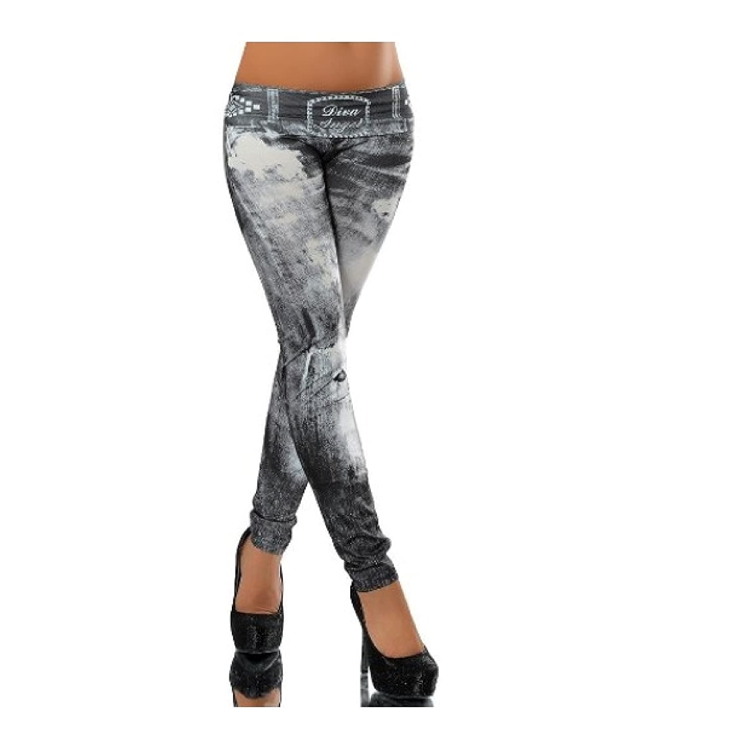 3f3fa89c1bcf6c G209 Damen Hose Leggings Röhre Jeggings