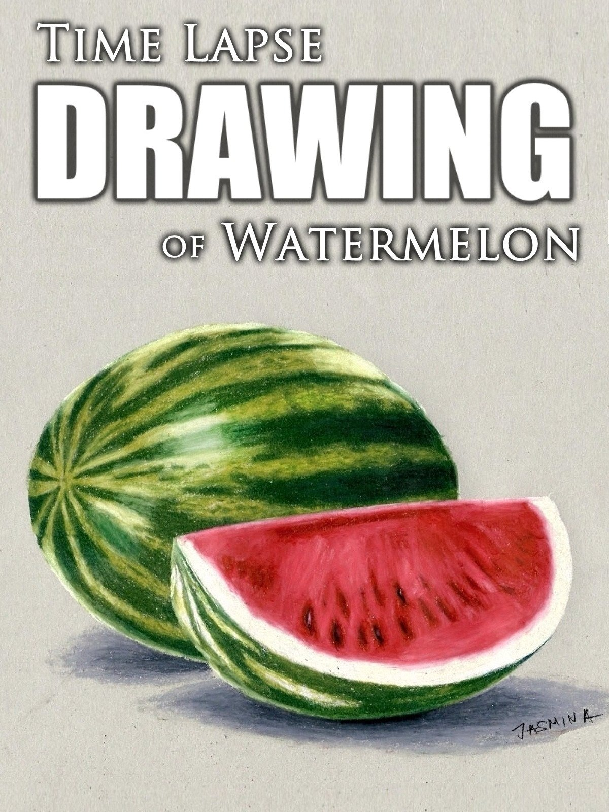 Clip: Time Lapse Drawing of Watermelon