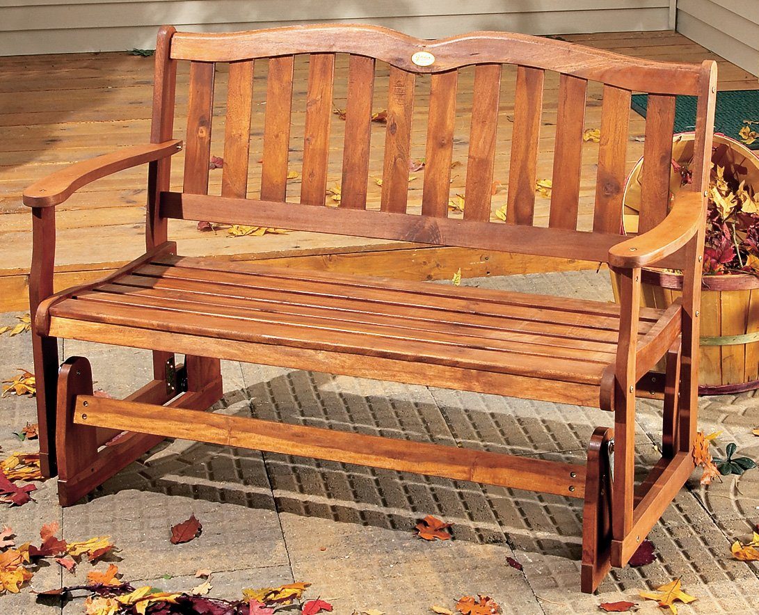 Wooden Gliders For Porch And Patio Webnuggetz Com